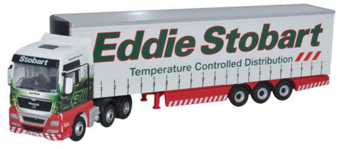 Oxford Diecast Eddie Stobart MAN TGX XXL Curtainside - 1:76 Scale