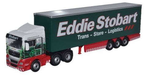 Oxford Diecast Eddie Stobart MAN TGX XLX Curtainside - 1:76 Scale