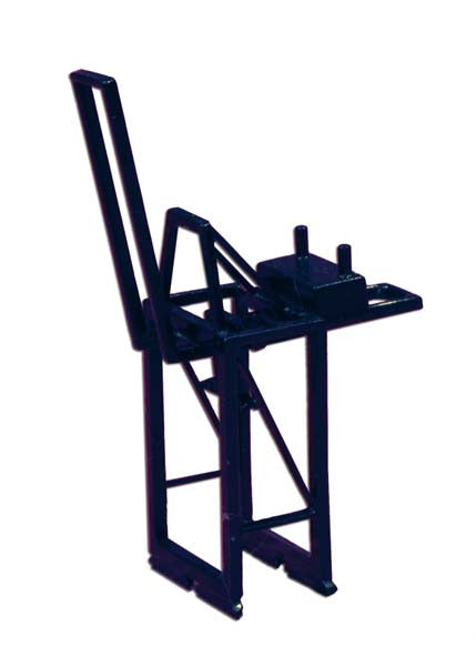 TRIANG Panamax Container Crane - Jib Up Blue - 1:1200 Scale
