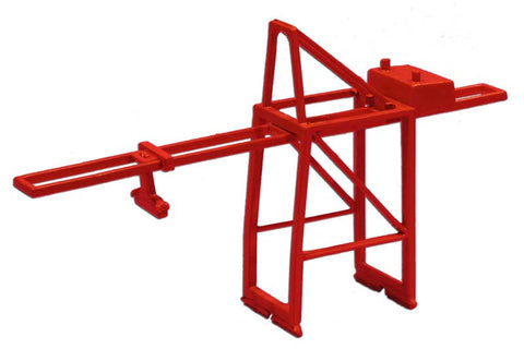 TRIANG Post Panamax Container Crane Orange - 1:1200 Scale
