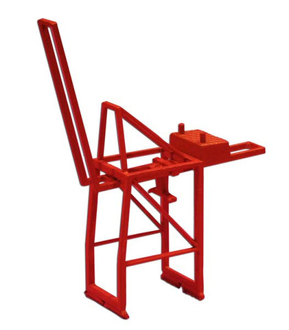 TRIANG Post Panamax Container Crane - Jib Up Orange - 1:1200 Scale