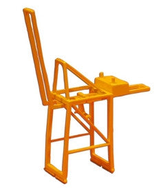 TRIANG Post Panamax Container Crane - Jib Up Yellow - 1:1200 Scale