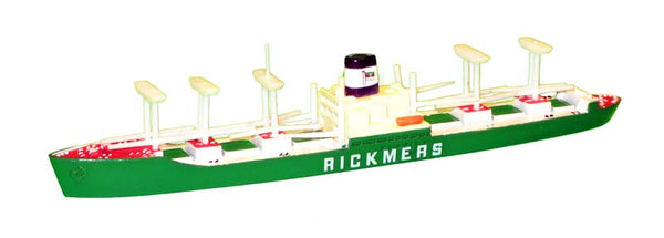 TRIANG Rickmers Livery - 1:1200 Scale