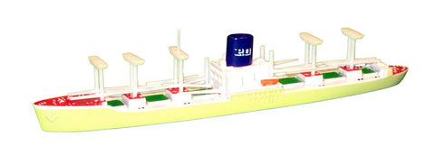 TRIANG P&O Livery (Corn Colour Hull) - 1:1200 Scale