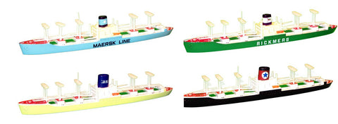 TRIANG Cargo Ship - Mariner - 4 Types - 1:1200 Scale