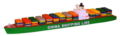 TRIANG China Shipping Lines Livery (CSCL) - 1:1200 Scale