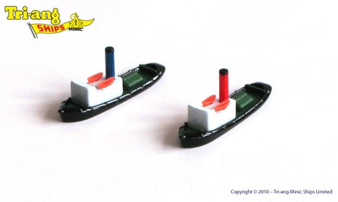 TRIANG Steam Tugs - 1:1200 Scale
