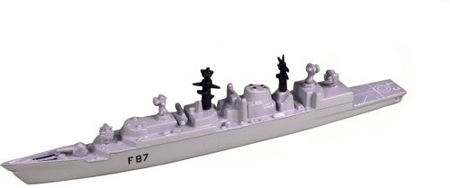 TRIANG HMS Chatham F87 - 1:1200 Scale