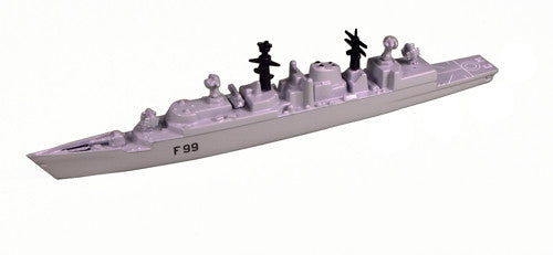 TRIANG HMS Cornwall F99 - 1:1200 Scale