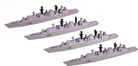 TRIANG Type 22 Batch 3 Frigates _4 - 1:1200 Scale