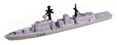 TRIANG HMS Monmouth F235 - 1:1200 Scale