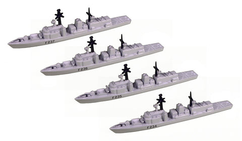 TRIANG Type 23 Frigates_4 - 1:1200 Scale