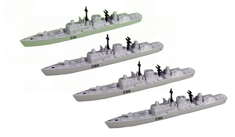 TRIANG Type 42 Batch 2 Destroyer_4 - 1:1200 Scale