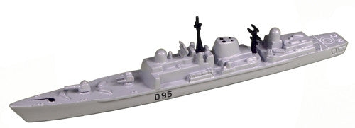 TRIANG HMS Manchester D95 - 1:1200 Scale