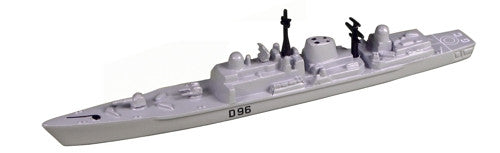 TRIANG HMS Gloucester D96 - 1:1200 Scale