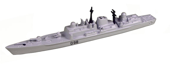 TRIANG HMS York D98 - 1:1200 Scale