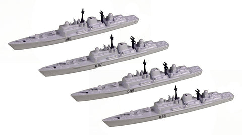 TRIANG Type 42 Batch 3 Destroyer_4 - 1:1200 Scale