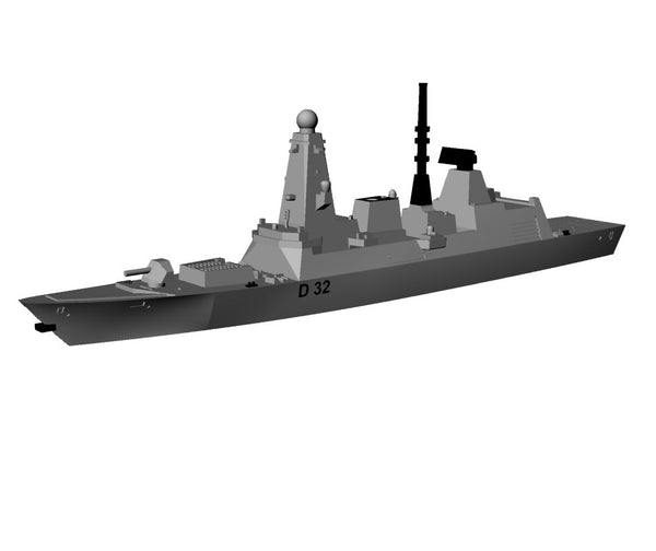 TRIANG Type 45 Destroyer HMS Diamond - 1:1200 Scale