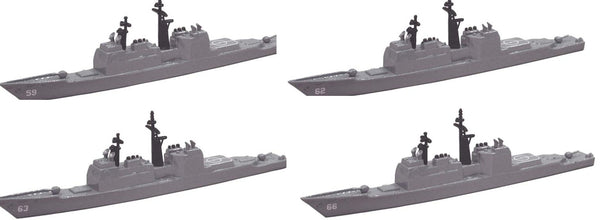 TRIANG Ticonderoga Cruiser - 4 Types - 1:1200 Scale