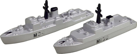 TRIANG HMS Bangor M109 & HMS Bicester M36 - 1:1200 Scale