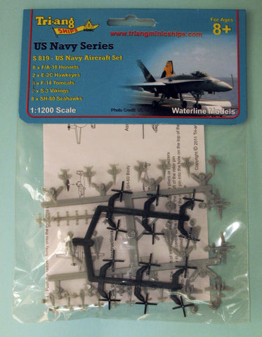 TRIANG USN Aircraft Set - 1:1200 Scale