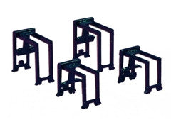 TRIANG Container Gantry Set - 2 x Large + 2 x Small Blue - 1:1200 Scal