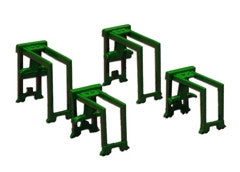 TRIANG Container Gantry Set - 2 x Large + 2 x Small Green - 1:1200 Scale