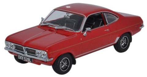 Oxford Diecast Vauxhall Firenza 1800SL Flamenco Red