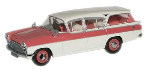 Oxford Diecast Mountain Rose/Swan White Cresta Friary Estate - 1:43 Sc