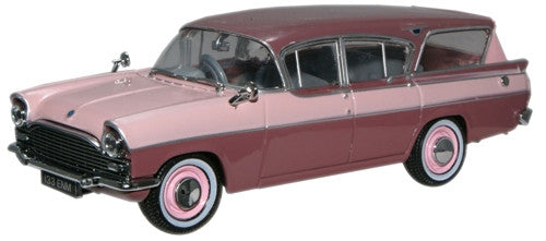 Oxford Diecast Vauxhall Cresta Friary Estate Dusk Rose/Lilac Haze - 1:
