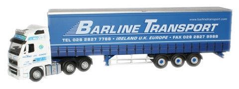 Oxford Diecast Barline Volvo FH Curtainside - 1:76 Scale