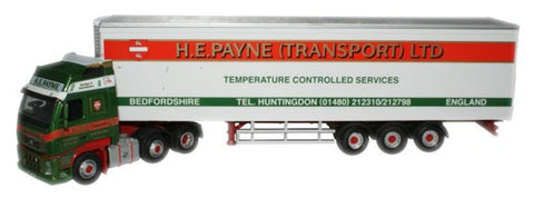 Oxford Diecast H E Payne Volvo FH Fridge - 1:76 Scale