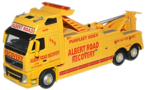 Oxford Diecast Albert Road Recovery Volvo - 1:76 Scale