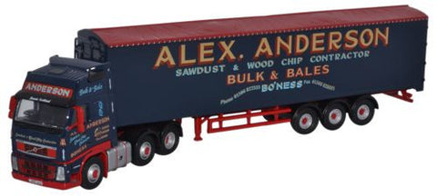 Oxford Diecast Volvo FH Walking Floor Alex Anderson - 1:76 Scale