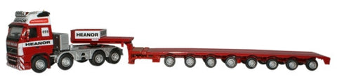 Oxford Diecast Heanor Haulage Low Loader - 1:76 Scale