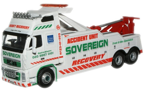 Oxford Diecast Sovereign Recovery Volvo - 1:76 Scale
