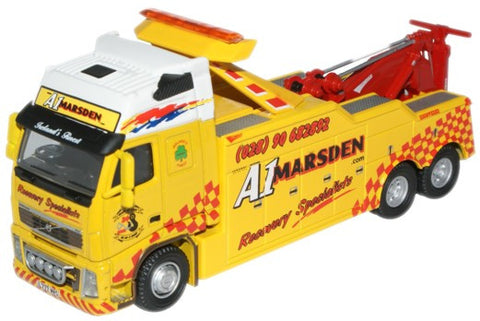 Oxford Diecast A1 Marsden Volvo Recovery - 1:76 Scale