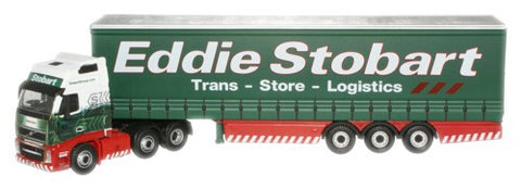 Oxford Diecast Eddie Stobart Ltd Volvo FH Curtainside Trailer - 1:76 S
