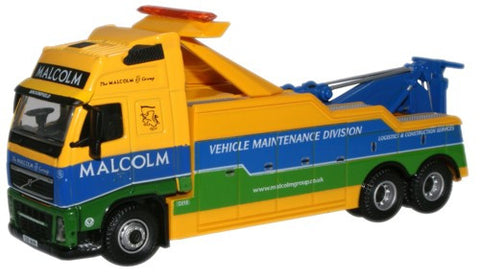 Oxford Diecast W H Malcolm Volvo FH Boniface Recovery Vehicle - 1:76 S