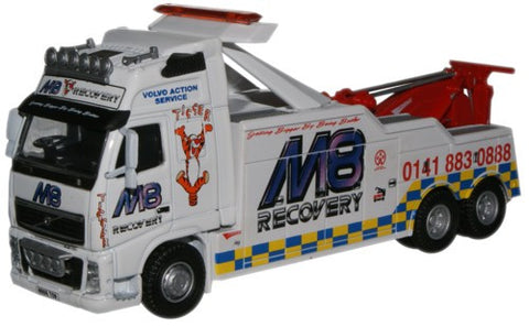 Oxford Diecast M8 Volvo Recovery Truck - 1:76 Scale