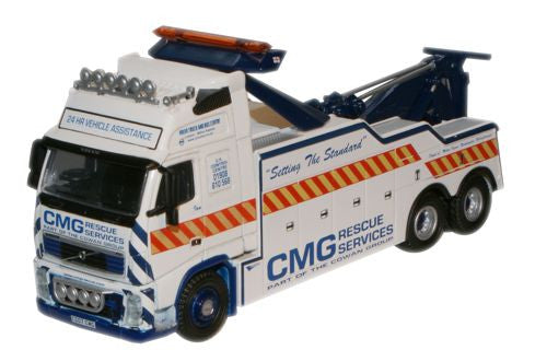 Oxford Diecast CMG Volvo FH Recovery Truck - 1:76 Scale