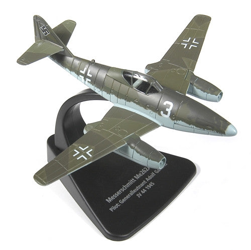 Oxford Diecast Messerschmitt ME 262 1:72 Scale Model Aircraft