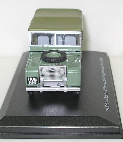 Oxford Diecast Land Rover 80 inch HUE 166 - 1:43 Scale