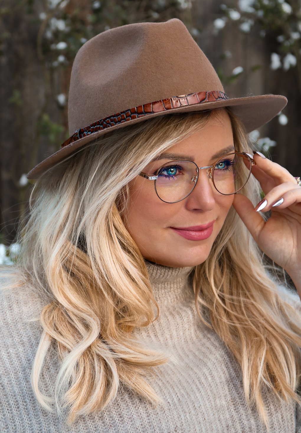 The Amy - Blue light blocking glasses