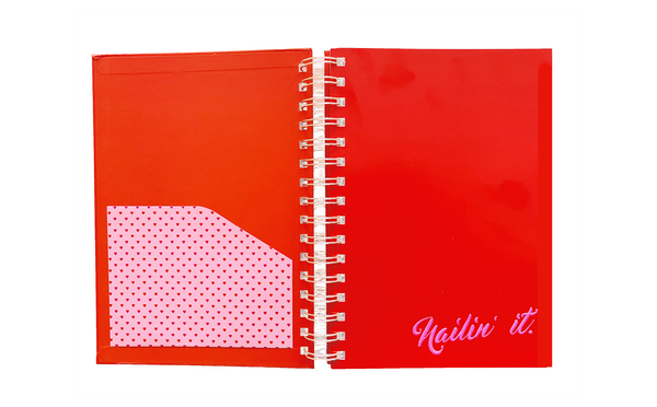 Nailin' It - Notebook A5