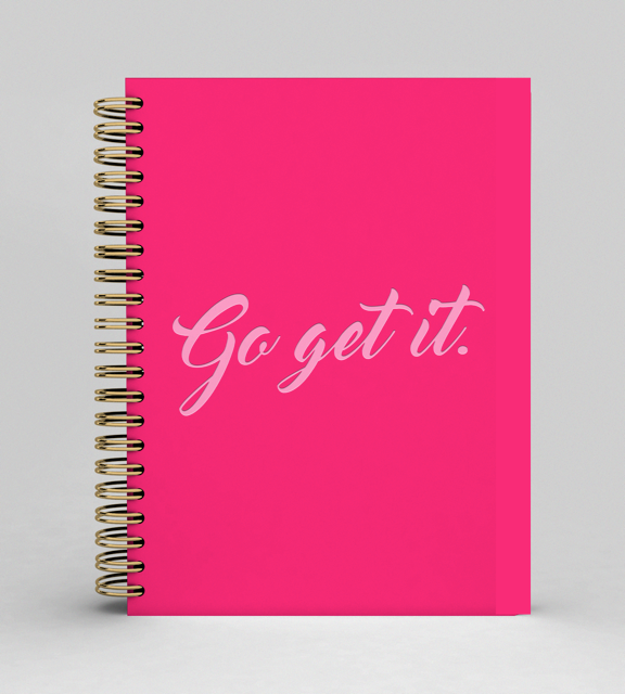 Go Get It - Notebook A5