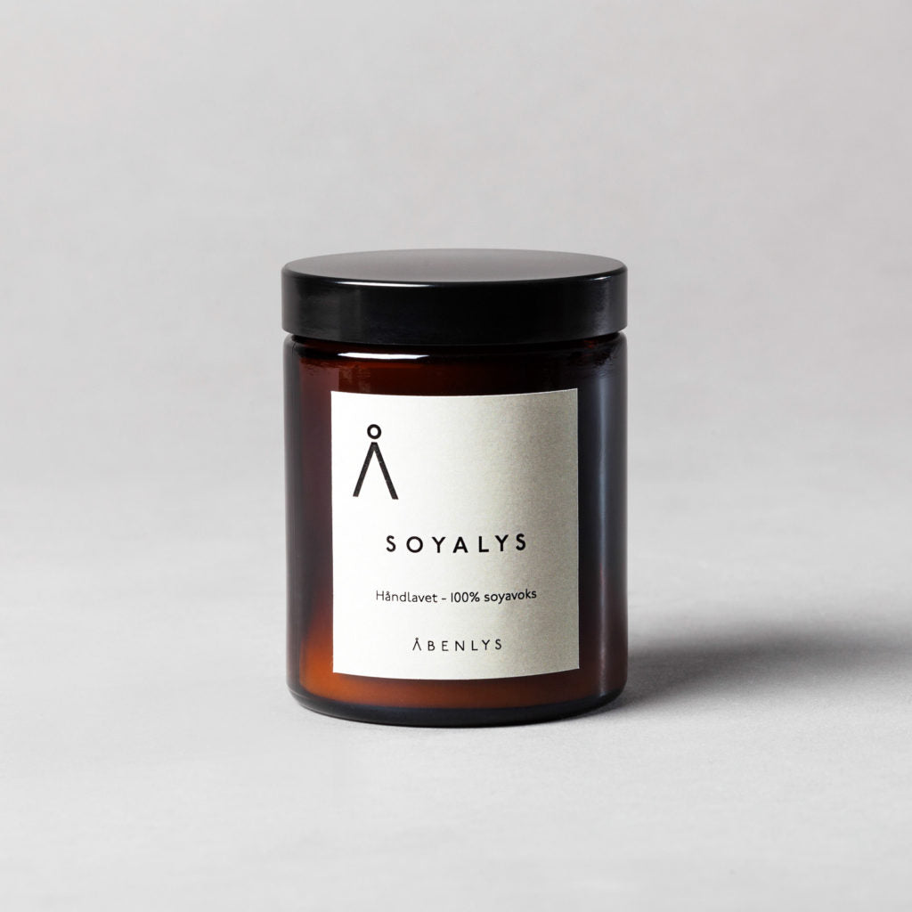 NON-SCENTED HYGGE SOY CANDLE