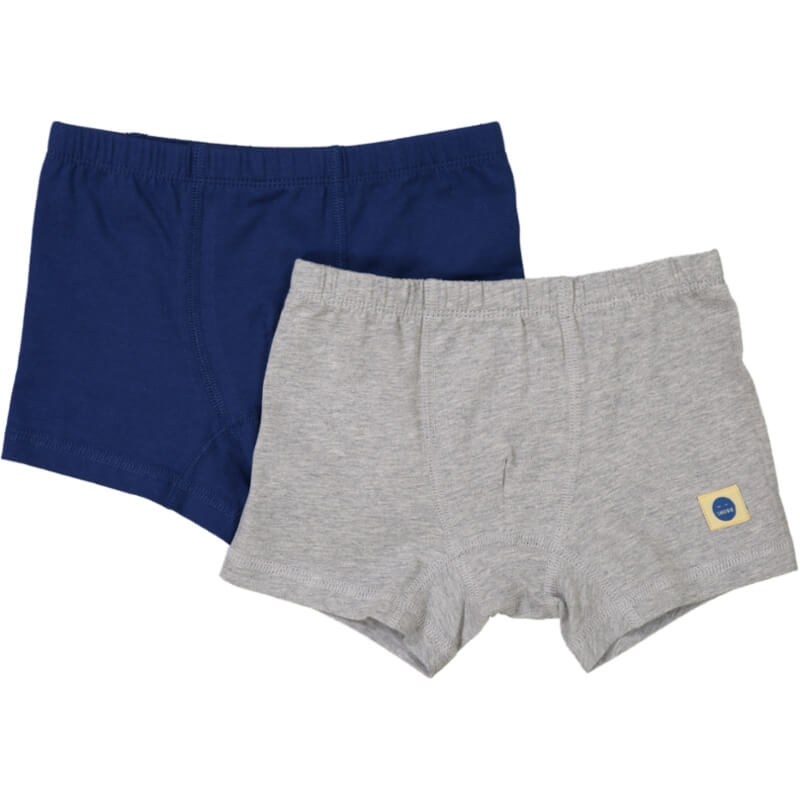 ROBERTO Boxer Briefs 2-pack Navy/Grey Melange