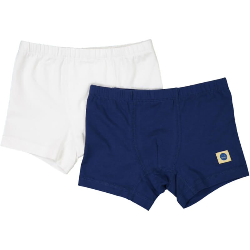 ROBERTO Boxer Briefs 2-pack White/Navy