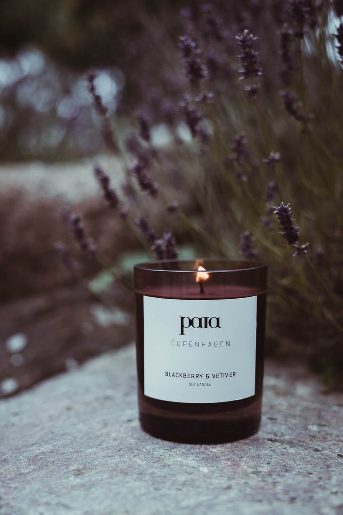 ORGANIC SOY CANDLE BLACKBERRY & VETIVER